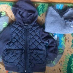 Sweatshirt / Jacket combo 2T boys